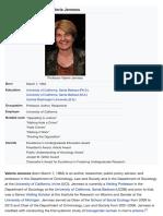 Valerie Jenness Wiki | UCI Professor Criminology Law Society