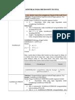 Fungsi Statistikal Pada Microsoft Excell