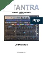 Tantra User Manual