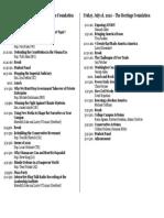 Summit Program 2010