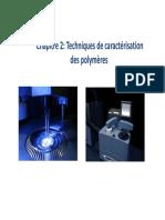 Chapitre 2 Techniques d Analyse Des Polymeres