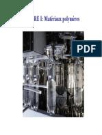 Chapitre 1 Matériaux Polymères