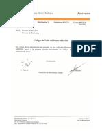 IS00129 Codigos de Falla MB 900