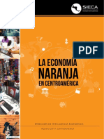 Economía Naranja en Centroamérica