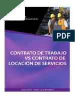 ICB . Contrato de Trabajo vs. Contrato de Locación de Servicios. Ediciones Caballero Bustamante, 2011.