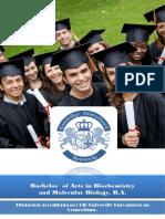 Biología Molecular Bachelor
