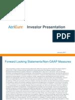 AtriCure Investor Book 2-24-17