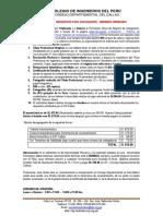 Requisitos Colegiatura M.ordinarios