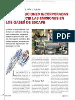 Material Tecnologias Soluciones Motores Reducir Emisiones Gases Escape Common Rail Acert Dvert Agrex Egr Electronica
