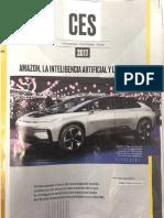 AMAZON, La Inteligencia Artificial y Los Autos