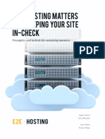 Why Hosting Matters and Keeping Your Site in-check by Roger LeFevre & Kevin Vlahos