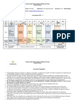 Cronograma Psicologia Educativa VIII a 1845