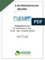 Polideportivo_3de3_Informe de Propuestas de Mejora Polideportivo Miraballes Final