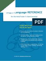 MQL5 Reference Manual