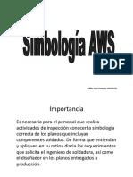 Presentación Simbología AWS