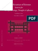 PhA 103 - Huby - Theophrastus of Eresus Sources for his Life, Writings, Thought and Influence. Commentary Volume 2 Logic.pdf
