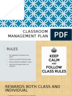 classroom man plan