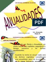 Anualidades (IV Unidad)