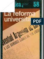 Pablo Lejarraga, Jorge Roulet y Bernardo Kleiner - La Reforma Universitaria