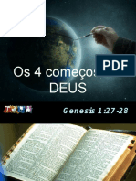 4 Comecos de Deus