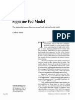 Fight the Fed Model