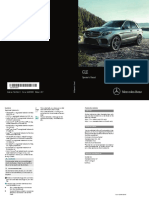 MY17 GLE SUV Operator Manual