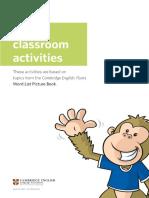 Flyers Classroom Activities - PDF