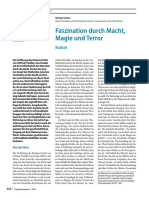 Prof. Dr. Med. Michael Günter -- Faszination Durch Macht, Magie Und Terror