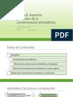 TEMA 2 - Contaminación Atmosférica
