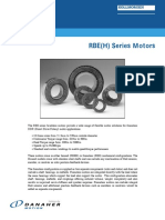 RBE Series Motors Brochure en-US 2003