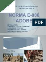 NORMA E-080