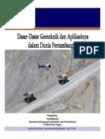 Dasar-dasar Geoteknik_WS Unhas2016 to Peserta