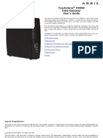 Modem Arris DG860 User Guide