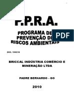 Ppra Briccal Industria Comercio e Mineracao Ltda