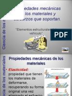 Propiedades Mecnicas de Los Materiales y Esfuerzos Que Soportan