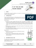 Design Paper - Impact of TMA on GSM Network Design_ed2