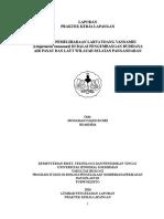 laporan pkl teknik pemeliharaan udang vannamei