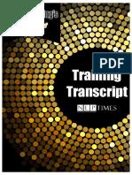 Stortytelling Golden Keys Training Transcript