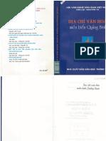 Địa Chí Văn Hoá Quảng Bình (1) - Văn Lợi