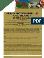 Raid Motoneige Quebec