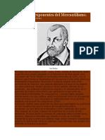 Principales Exponentes Del Mercantilismo
