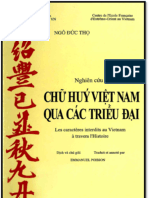 Chữ Huý Việt Nam Qua Các Thời Đại (2) - Ngô Đức Thọ
