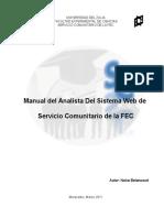 Manual Del Analista - Modelo a Seguir