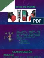 Elementos de Mando Pptx