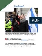 Who funds Irish4Israel.docx