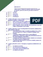 Teste de Direito Administrativo 24