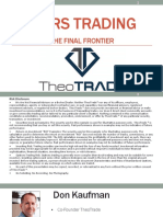 Pairs Trading - The Final Frontier
