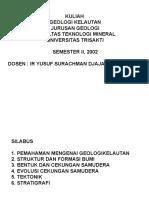 Geologilaut Pakyusufsurachmankuliahgeologikelautan 1 130720100936 Phpapp01