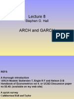 Lecture 8 Arch and Garch