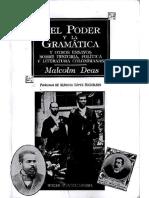 Del Poder y La Gramática, Malcom Deas.